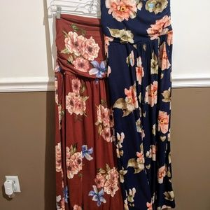 Rags and Couture Dresses - 2 for $30 or $20 each! Maternity Maxi Dresses